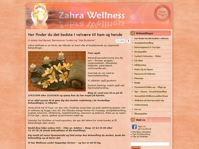 7d showcase - ZahraWellness.dk